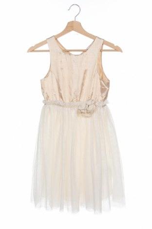 Παιδικό φόρεμα H&M, Μέγεθος 9-10y/ 140-146 εκ., Χρώμα  Μπέζ, Πολυεστέρας, Τιμή 9,87€