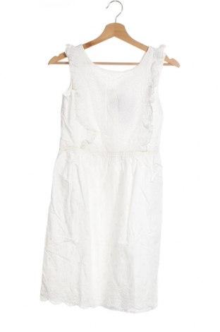 Παιδικό φόρεμα Vertbaudet, Μέγεθος 8-9y/ 134-140 εκ., Χρώμα Λευκό, Βαμβάκι, Τιμή 24,90€