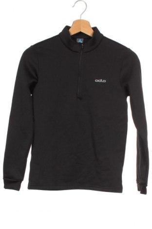 Παιδική μπλούζα αθλητική Odlo, Μέγεθος 10-11y/ 146-152 εκ., Χρώμα Μαύρο, 92% πολυεστέρας, 8% ελαστάνη, Τιμή 11,72€