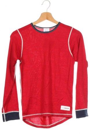 Παιδική μπλούζα αθλητική Ulvang, Μέγεθος 12-13y/ 158-164 εκ., Χρώμα Κόκκινο, 80% μαλλί, 20% βισκόζη, Τιμή 17,28€