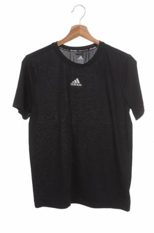 Dětské tričko  Adidas, Velikost 15-18y/ 170-176 cm, Barva Černá, 100% polyester, Cena  383,00Kč