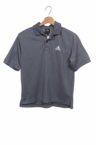 Dětské tričko  Adidas, Velikost 10-11y/ 146-152 cm, Barva Šedá, Polyester, Cena  255,00Kč