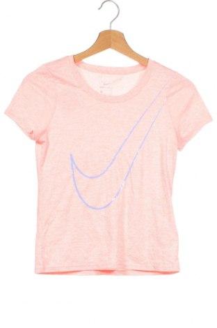 Dětské tričko  Nike, Velikost 9-10y/ 140-146 cm, Barva Růžová, Polyester, Cena  351,00Kč
