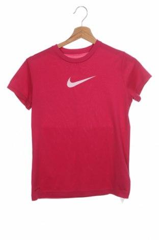 Dětské tričko  Nike, Velikost 10-11y/ 146-152 cm, Barva Růžová, Polyester, Cena  197,00Kč