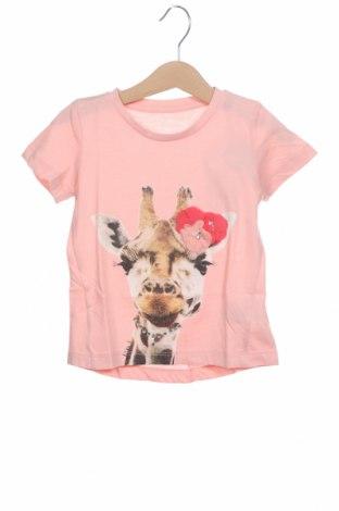 Dětské tričko  Tom Tailor, Velikost 18-24m/ 86-98 cm, Barva Růžová, 60% bavlna, 40% polyester, Cena  373,00Kč