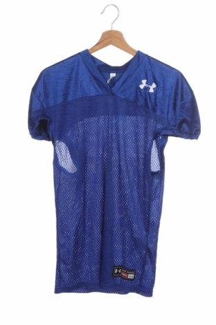 Dětské tričko  Under Armour, Velikost 10-11y/ 146-152 cm, Barva Modrá, 100% polyester, Cena  383,00Kč