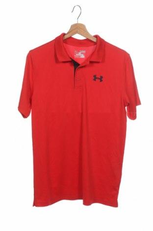 Dětské tričko  Under Armour, Velikost 15-18y/ 170-176 cm, Barva Červená, 95% polyester, 5% elastan, Cena  399,00Kč