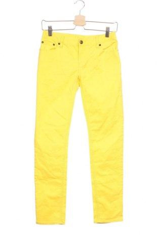 Dětské džíny , Velikost 13-14y/ 164-168 cm, Barva Žlutá, 98% bavlna, 2% elastan, Cena  298,00Kč
