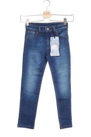 Blugi pentru copii Indigo, Mărime 3-4y/ 104-110 cm, Culoare Albastru, 88% bumbac, 10% poliester, 2% elastan, Preț 53,19 Lei