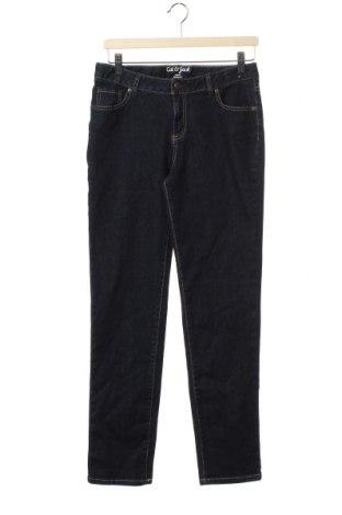 Dětské džíny  Cat & Jack, Velikost 15-18y/ 170-176 cm, Barva Modrá, 67% bavlna, 20% polyester, 11% viskóza, 2% elastan, Cena  401,00Kč