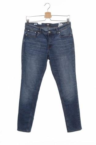 Dětské džíny  Jack & Jones, Velikost 14-15y/ 168-170 cm, Barva Modrá, 60% bavlna, 28% polyester, 10% bavlna, 2% elastan, Cena  625,00Kč