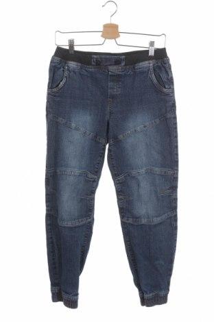 Dětské džíny  John Baner, Velikost 14-15y/ 168-170 cm, Barva Modrá, 98% bavlna, 2% elastan, Cena  242,00Kč