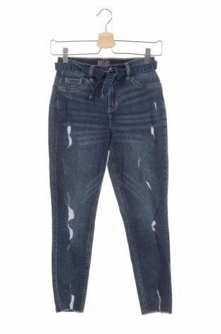 Dětské džíny  Justice, Velikost 13-14y/ 164-168 cm, Barva Modrá, 66% bavlna, 22% viskóza, 11% polyester, 1% elastan, Cena  351,00Kč