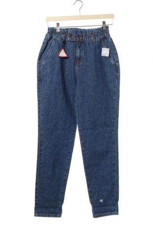 Dětské džíny  Kiabi, Velikost 15-18y/ 170-176 cm, Barva Modrá, 99% bavlna, 1% elastan, Cena  703,00Kč