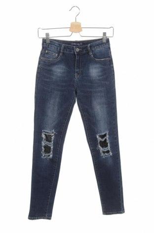 Dětské džíny  Mua Dress, Velikost 11-12y/ 152-158 cm, Barva Modrá, 68% bavlna, 30% polyester, 2% elastan, Cena  287,00Kč