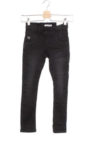 Dětské džíny  Name It, Velikost 7-8y/ 128-134 cm, Barva Černá, 75% bavlna, 24% polyester, 1% elastan, Cena  566,00Kč