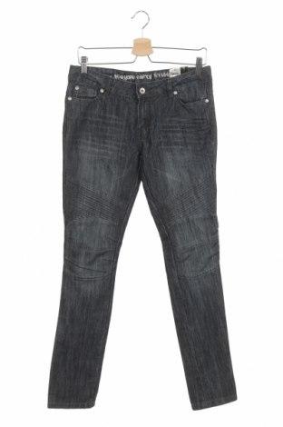 Dětské džíny  Okay, Velikost 14-15y/ 168-170 cm, Barva Modrá, 70% bavlna, 30% polyester, Cena  531,00Kč