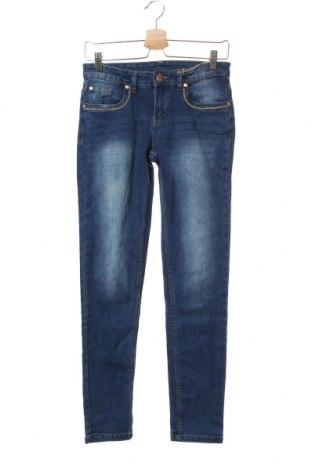 Dětské džíny  Y.F.K., Velikost 13-14y/ 164-168 cm, Barva Modrá, 98% bavlna, 2% elastan, Cena  298,00Kč