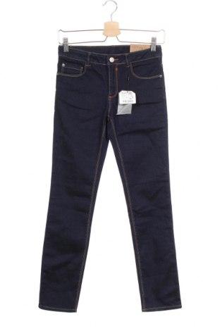 Παιδικά τζίν Zara, Μέγεθος 11-12y/ 152-158 εκ., Χρώμα Μπλέ, 95% βαμβάκι, 3% πολυεστέρας, 2% ελαστάνη, Τιμή 27,02€