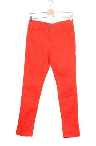 Dětské manšestráky  H&M, Velikost 12-13y/ 158-164 cm, Barva Oranžová, 98% bavlna, 2% elastan, Cena  345,00Kč