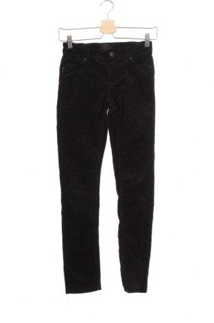 Dětské manšestráky  Here+There, Velikost 10-11y/ 146-152 cm, Barva Černá, 97% bavlna, 3% elastan, Cena  359,00Kč