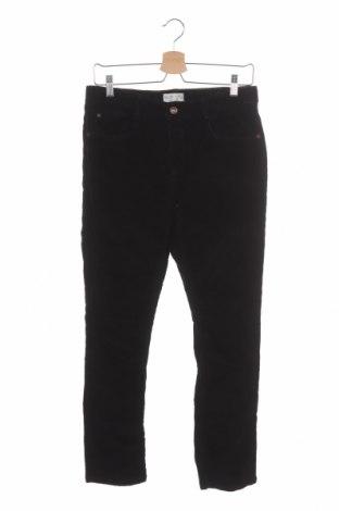 Παιδικό κοτλέ παντελόνι Zara Kids, Μέγεθος 13-14y/ 164-168 εκ., Χρώμα Μαύρο, Τιμή 11,43€