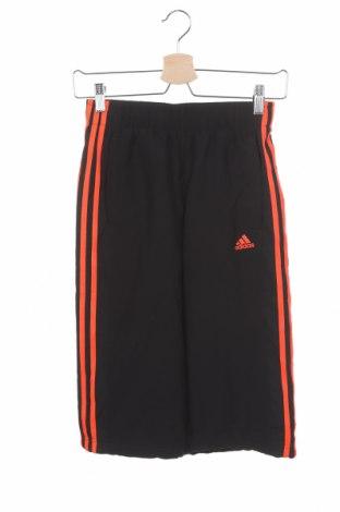 Pantaloni scurți pentru copii Adidas, Mărime 11-12y/ 152-158 cm, Culoare Negru, Poliester, Preț 77,37 Lei