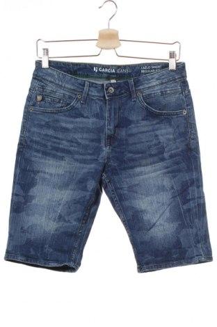 Παιδικό κοντό παντελόνι Garcia Jeans, Μέγεθος 13-14y/ 164-168 εκ., Χρώμα Μπλέ, 99% βαμβάκι, 1% ελαστάνη, Τιμή 10,49€