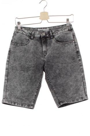 Παιδικό κοντό παντελόνι Manguun, Μέγεθος 13-14y/ 164-168 εκ., Χρώμα Γκρί, 72% βαμβάκι, 27% πολυεστέρας, 1% ελαστάνη, Τιμή 11,11€