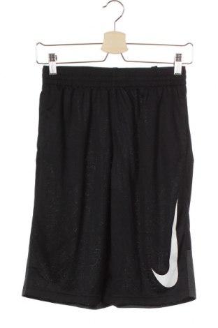 Παιδικό κοντό παντελόνι Nike, Μέγεθος 12-13y/ 158-164 εκ., Χρώμα Μαύρο, Πολυεστέρας, Τιμή 16,05€