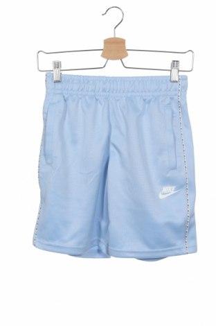 Детски къс панталон Nike, Размер 9-10y/ 140-146 см, Цвят Син, Полиестер, Цена 25,97лв.