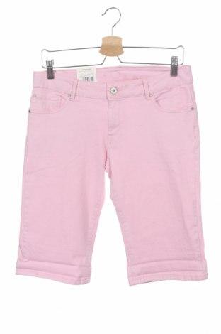 Детски къс панталон Pepe Jeans, Размер 15-18y/ 170-176 см, Цвят Розов, 99% памук, 1% еластан, Цена 40,29лв.