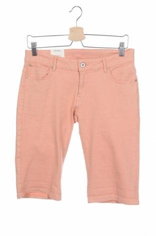 Детски къс панталон Pepe Jeans, Размер 15-18y/ 170-176 см, Цвят Оранжев, 99% памук, 1% еластан, Цена 40,29лв.