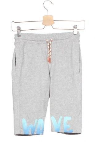 Детски къс панталон Tom Tailor, Размер 7-8y/ 128-134 см, Цвят Сив, 90% памук, 10% вискоза, Цена 18,06лв.