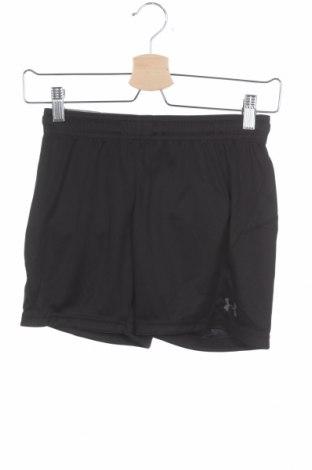 Pantaloni scurți pentru copii Under Armour, Mărime 7-8y/ 128-134 cm, Culoare Negru, Poliester, Preț 77,37 Lei