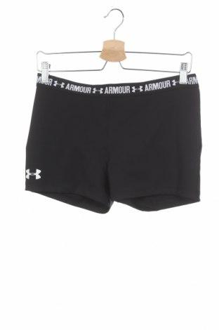 Детски къс панталон Under Armour, Размер 15-18y/ 170-176 см, Цвят Черен, 92% полиестер, 8% еластан, Цена 25,97лв.