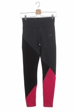Dětské legíny  Adidas, Velikost 13-14y/ 164-168 cm, Barva Šedá, 89% polyester, 11% elastan, Cena  430,00Kč