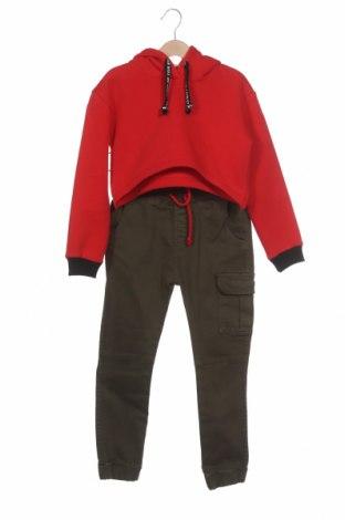 Dětský komplet , Velikost 8-9y/ 134-140 cm, Barva Červená, 65% bavlna, 35% polyester, Cena  457,00Kč