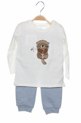 Dětský komplet  Name It, Velikost 12-18m/ 80-86 cm, Barva Modrá, 95% bavlna, 5% elastan, Cena  533,00Kč