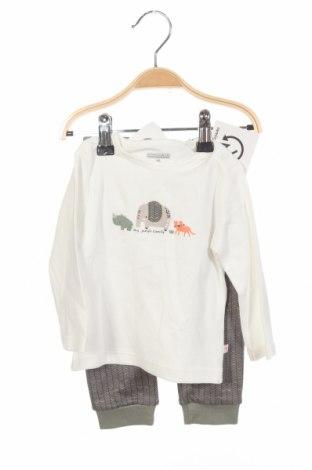 Παιδικό σύνολο Staccato, Μέγεθος 6-9m/ 68-74 εκ., Χρώμα Λευκό, Βαμβάκι, Τιμή 18,95€