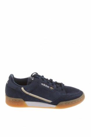 Dětské boty  Adidas Originals, Velikost 38, Barva Modrá, Přírodní velur , Cena  1272,00Kč