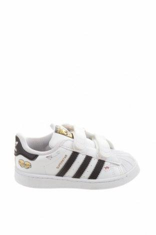 Dětské boty  Adidas Originals, Velikost 25, Barva Bílá, Eko kůže, Cena  877,00Kč