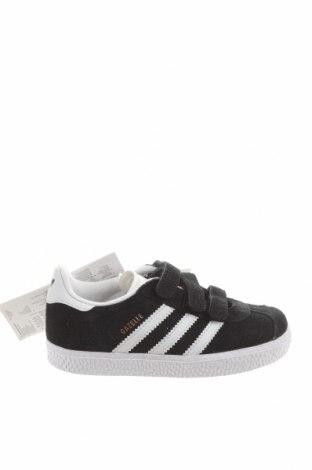 Dětské boty  Adidas Originals, Velikost 27, Barva Černá, Pravá kůže, Eko kůže, Cena  976,00Kč