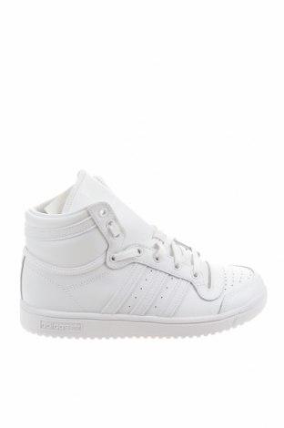 Dětské boty  Adidas Originals, Velikost 35, Barva Bílá, Pravá kůže, Eko kůže, Cena  1468,00Kč