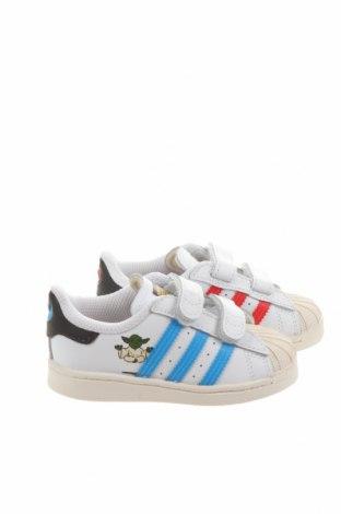 Dětské boty  Adidas Originals, Velikost 22, Barva Bílá, Eko kůže, Cena  877,00Kč