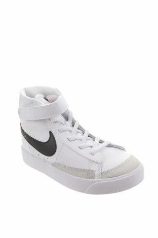 Dětské boty  Nike, Velikost 31, Barva Bílá, Pravá kůže, Přírodní velur , Eko kůže, Cena  1294,00Kč