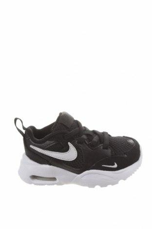 Dětské boty  Nike, Velikost 22, Barva Černá, Textile , Přírodní velur , Eko kůže, Cena  1725,00Kč