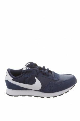 Dětské boty  Nike, Velikost 35, Barva Modrá, Eko kůže, textile , Přírodní velur , Cena  1619,00Kč