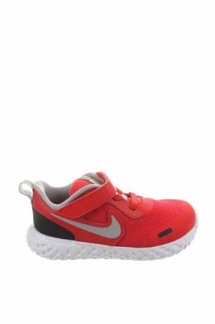 Dětské boty  Nike, Velikost 26, Barva Červená, Eko kůže, pravá kůže, textile , Cena  1725,00Kč
