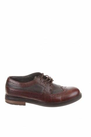Детски обувки Reserved, Размер 38, Цвят Кафяв, Естествена кожа, Цена 31,28лв.